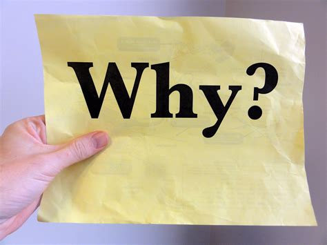 If You Why start with why creating communication