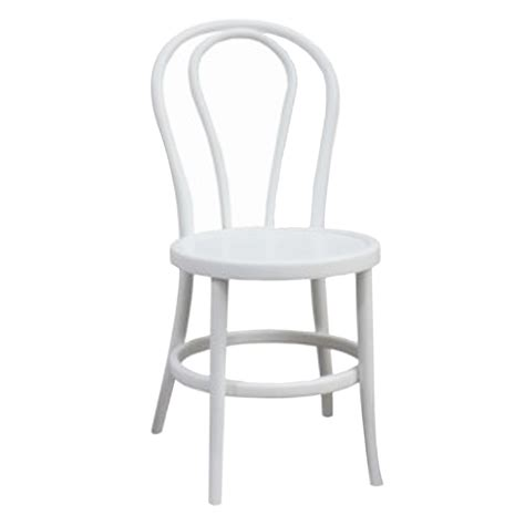 White Chair by Other Wedding Chairs
