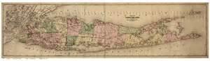maps of island new york