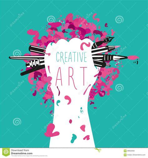 layout artist que es criativo e arte a m 227 o est 225 guardando ferramentas das artes