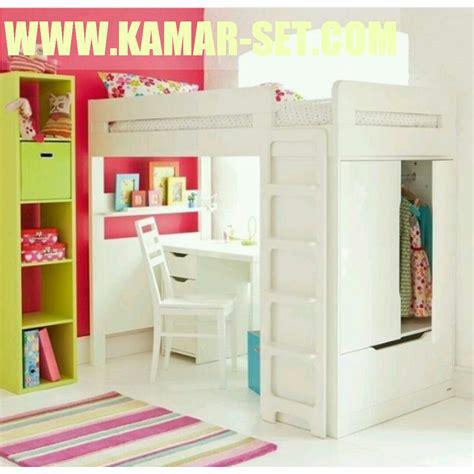 Lemari Kayu Susun jual set tempat tidur susun model ranjang tingkat