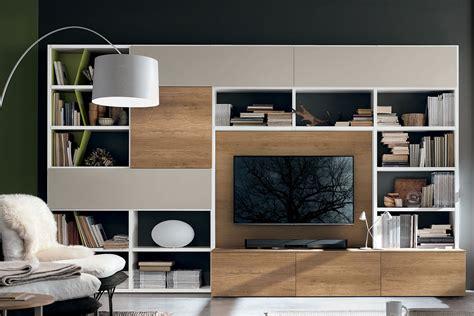 libreria soggiorno librerie componibili a spalla mobili per il soggiorno
