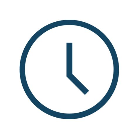 Flat Dripper 01 Transparant clock icon vector png