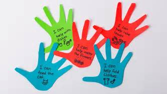 Craft for kids about helping hands artuks com