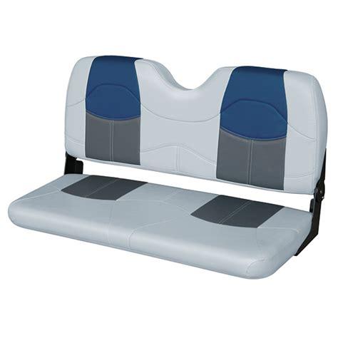 wise seating  bench seat graycharcoalnavy west marine
