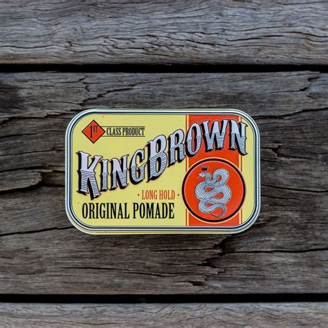 King Pomade Ukuran Medium 28 Oz king brown original pomade australia s best range of beard pomades and moustache wax
