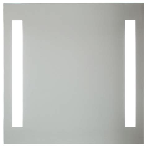 modern bathroom mirrors backlight mirror with 2 vertical lights modern