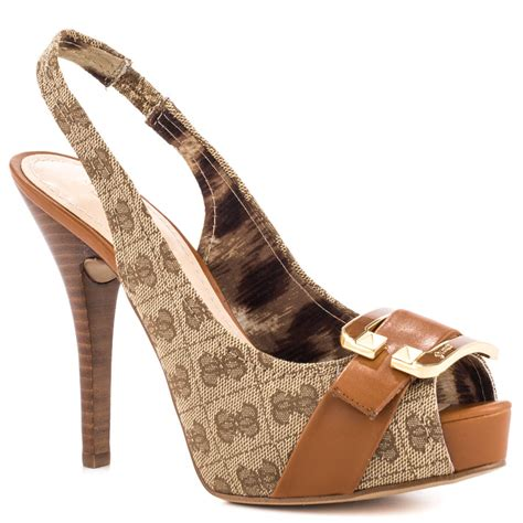 guess shoes guess izaihas brown multi fab shoes for wacoz