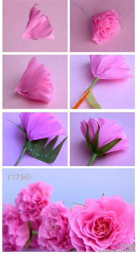 como hacer moo de papel crepe c 243 mo hacer rosas que parezcan reales papiroflexia