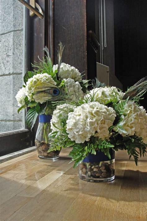 wedding centerpieces hydrangea centre pieces groom s speech floral arreglos