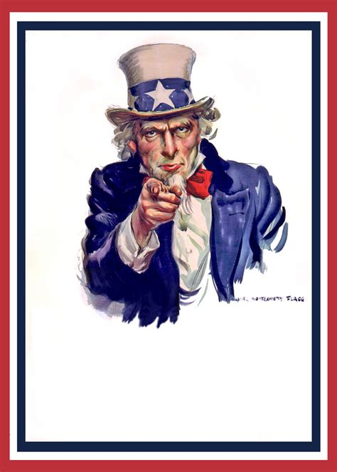 Uncle Sam Meme - uncle sam i want you poster no words see the complete