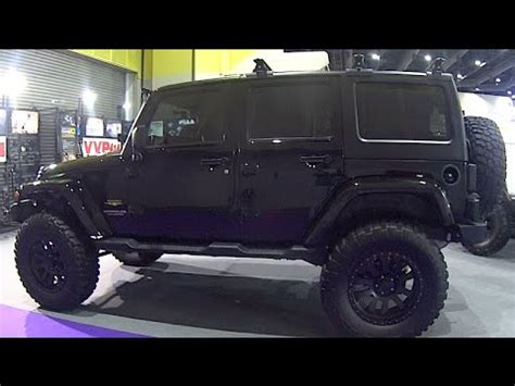 jeep modified black custom modified jeep wrangler rubicon unlimited black