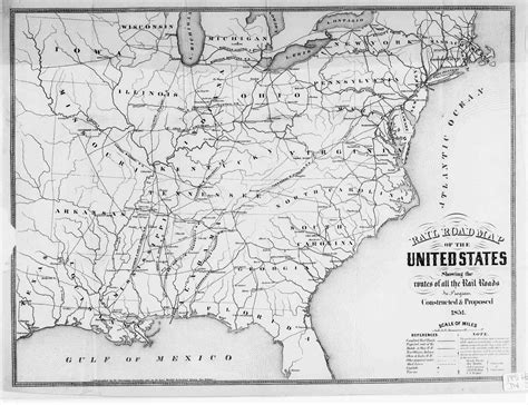 railroad maps usa hargrett library map collection transportation