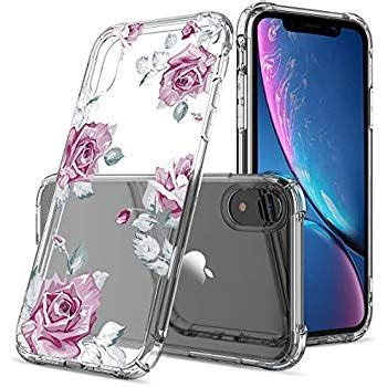 amazoncom floral clear iphone xr case  womengirlsgreatruly pretty phone case  iphone