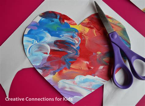 valentines painting for toddlers