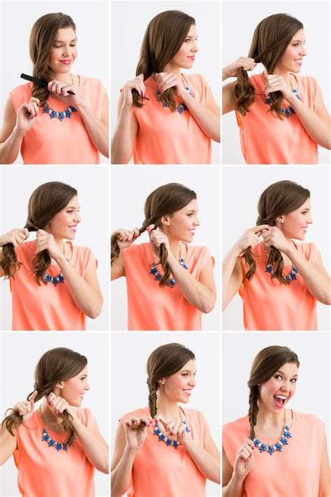 steps to show how to make fish tail favload braiding 101 fishtail french and dutch inside out braids