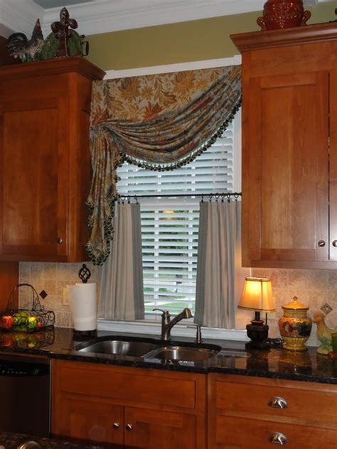 Tuscan Style Kitchen Curtains Rustic Italian Kitchen Curtain Designs Interior Design