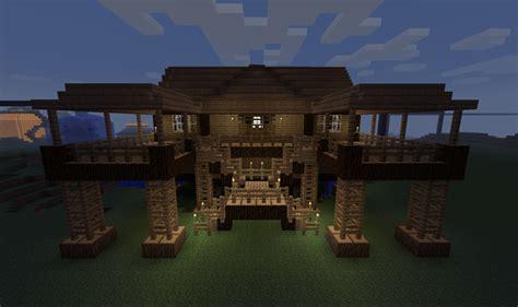 minecraft home ideas minecraft building ideas stilt house geeking it