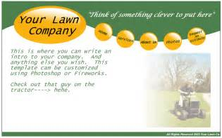 business postcards templates free free lawn care business postcard templates lawn care