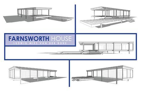 farnsworth house section clinton tan assignment 6 farnsworth house digital