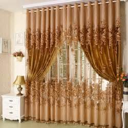 Exclusive Curtain Fabrics Designs Free Shipping Quality Burntout Screens Living Room Fabric Font B Curtain B Font Cloth Luxury