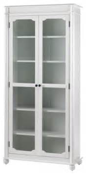 How To Build A Bookcase With Glass Doors Essex Bookcase With Glass Doors Aged Traditional Bookcases By Home Decorators