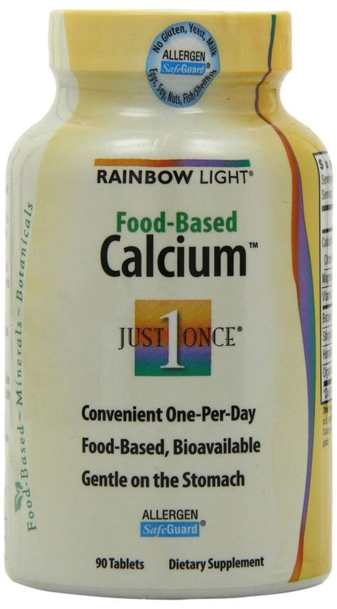 rainbow light food based calcium with magnesium and vitamin d3 choosing the best calcium supplement for vegans vegetarians