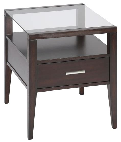 magnussen home baker end table homeworld furniture end