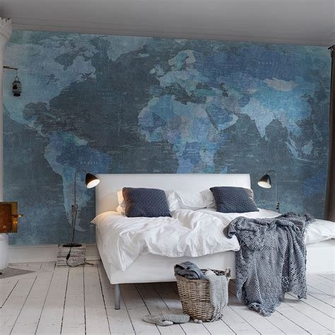 wallpaper bedroom awesome blue bedroom wallpapers collection ideas