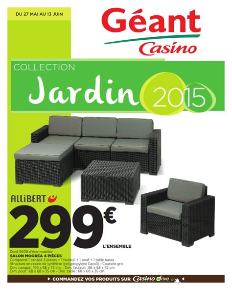 G 233 Ant Casino Collection Jardin 2015 Cataloguespromo Com