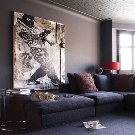 Cool Paintings For Living Room 20 cool living rooms with statement artwork rilane