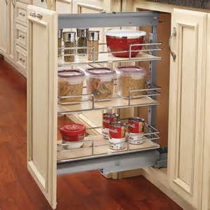 Cabinet Pull Out Shelves Kitchen Pantry Storage Rev A Shelf Shorty Pull Out Pantry With Maple Shelves For