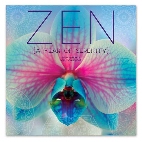 avalon     wall calendar zen leap year publishing