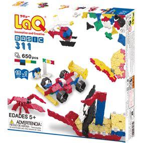 Laq Basic 311 楽天市場 laq ラキュー ベーシック 311 basic 知育玩具 知育ブロック 木のおもちゃ ウッディモンキー