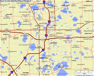 Map Of Orlando Fl by Map Of Central Florida Orlando Pictures To Pin On