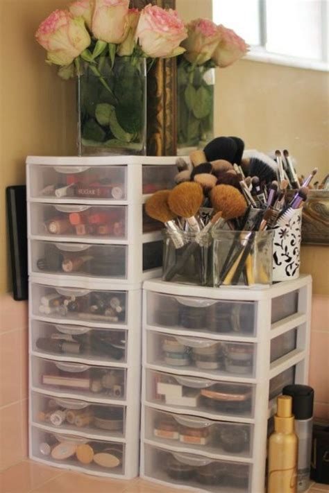 makeup drawer organizer ideas 52 cute and smart makeup storage ideas comfydwelling