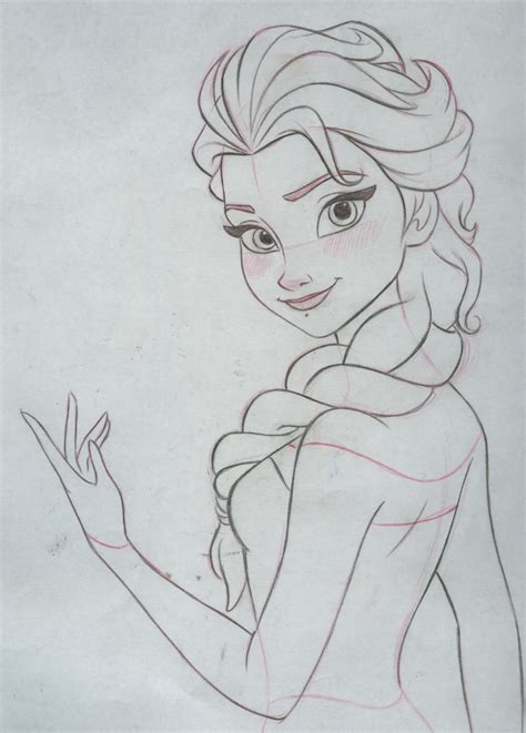 doodle draw elsa drawing of elsa and new calendar template site