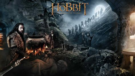 wallpapers abyss the hobbit the hobbit an unexpected journey computer wallpapers