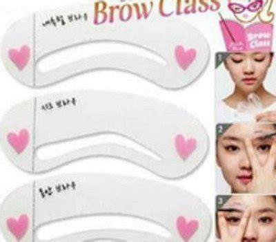 Promo Cetakan Alis Bahan Silikon Jelly Brow Class Original Original jual beli cetakan alis mini class baru jual