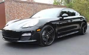 Custom Porsche Panamera For Sale Shaquille O Neal S Porsche Panamera For Sale On Autotrader