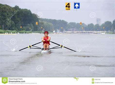 skiff aviron aviron de skiff images stock image 15007784