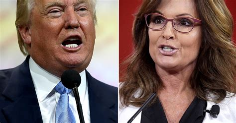 trump i would love sarah palin in my cabinet shes a donald trump would quot love quot for sarah palin to join his