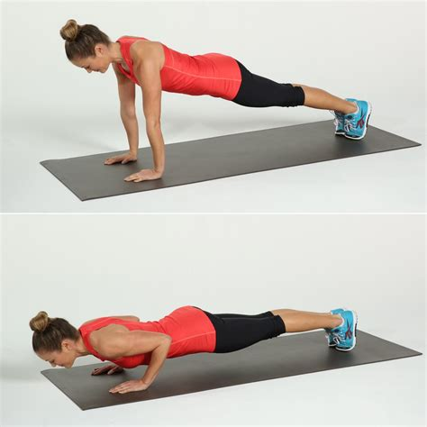 Push Up 8 push ups popsugar fitness