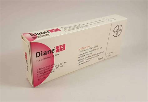 Diane 35 Isi 21 Tablet Mengandung Cyproterone Acetate 2 Mg Dan Ethin diane 35 cyproterone acetate ethinyl estradiol 21 tablets