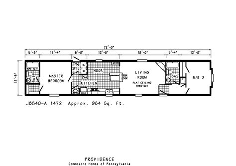 Single Wide Mobile Homes Floor Plans | manufactured homes mobile single wide floor plans