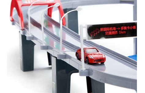 Tomica Auto Parking Garage by Takara Tomy Tomica World Play Set Toys Expressway