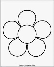 Flower coloring pages simple coloring panda