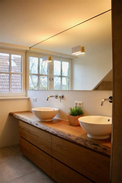 badkamer renovatie nijkerk eiken badkamermeubel badkamer ontwerp bij nieuwbouw en