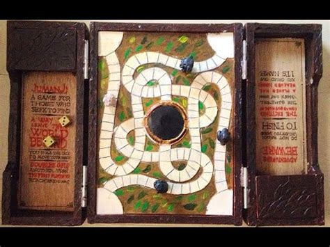 jumanji movie game rules jumanji game board prop replica youtube