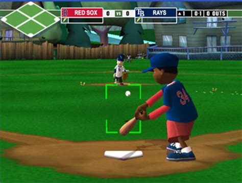 backyard baseball online game backyard baseball 2009 for wii nintendo game details
